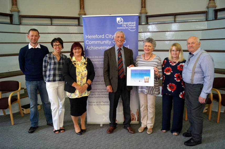 Hereford in Bloom Community Open Spaces Award