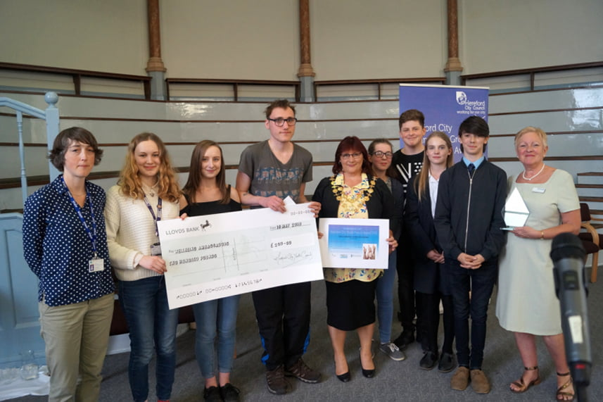 The winner of the Youth Project Award