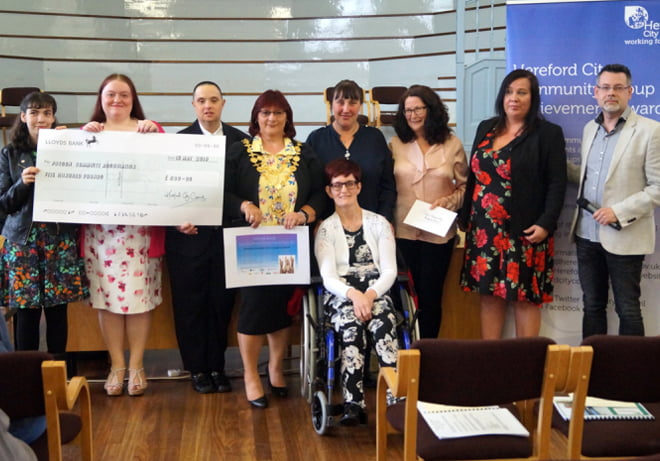 Hereford City Council Awards
