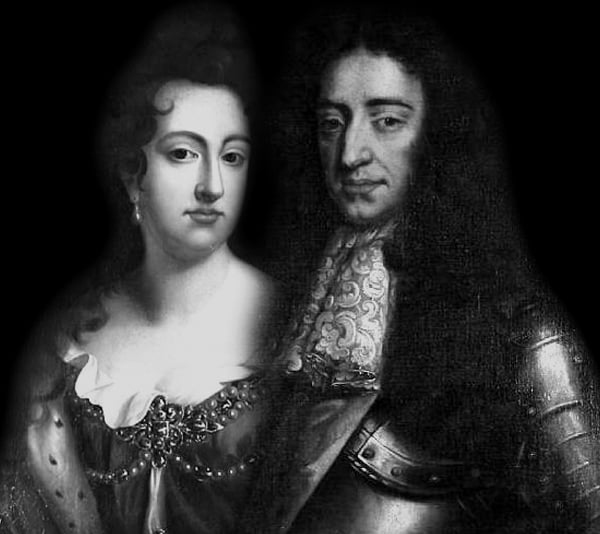 King William With Mary