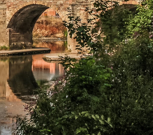 River wye with the old bridge in view