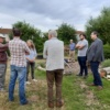 Climate & Biodiversity Committee visit Hereford's Community Gardens